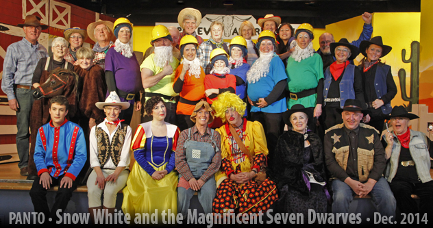 Snow White and the Magnificent Seven Dwarves